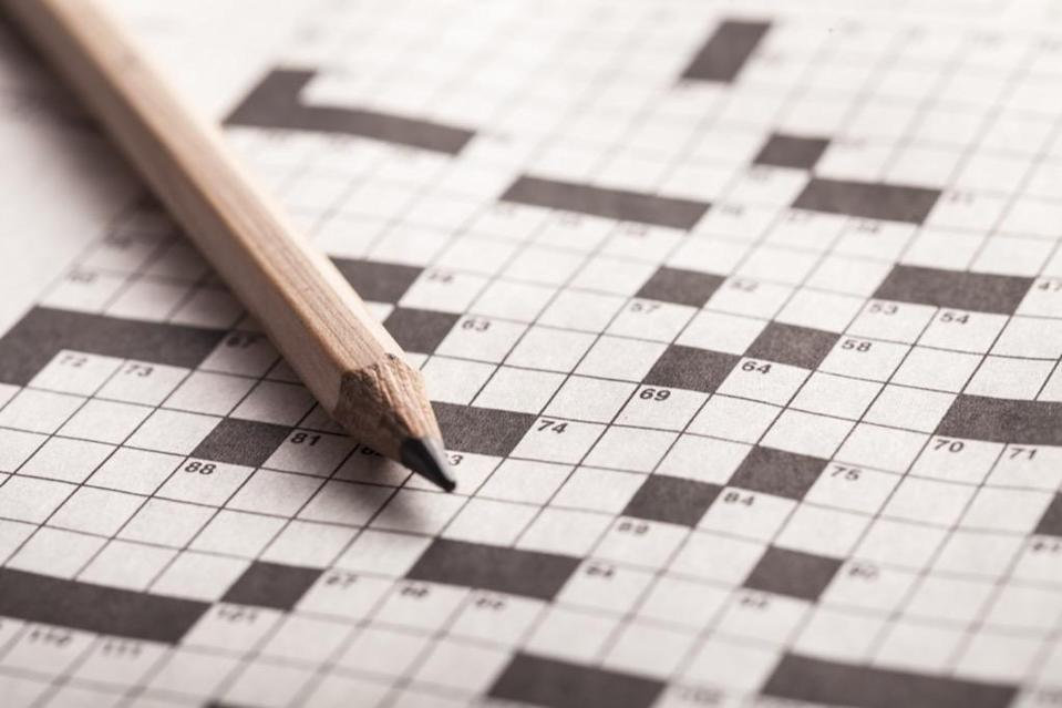 """Sure, binge-watching your favorite shows is fun, but it can do you some good to swap a single episode for a crossword puzzle every once in a while. A 2011 study published in the <a href=""""https://www.ncbi.nlm.nih.gov/pmc/articles/PMC3885259/"""" rel=""""nofollow noopener"""" target=""""_blank"""" data-ylk=""""slk:Journal of the International Neuropsychological Society"""" class=""""link rapid-noclick-resp""""><em>Journal of the International Neuropsychological Society</em></a> revealed a link between doing crosswords and <a href=""""https://bestlifeonline.com/alzheimers-risk/?utm_source=yahoo-news&utm_medium=feed&utm_campaign=yahoo-feed"""" rel=""""nofollow noopener"""" target=""""_blank"""" data-ylk=""""slk:reduced dementia risk"""" class=""""link rapid-noclick-resp"""">reduced dementia risk</a>, so if you want to keep your brain healthy and sharp, put down the remote and pick up a pen."""
