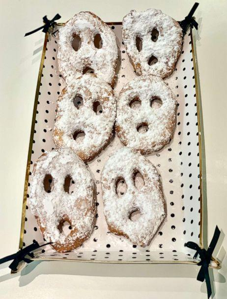 PHOTO: I made Pinterest's top trending Halloween recipes, which included Ghost Donuts. ( )