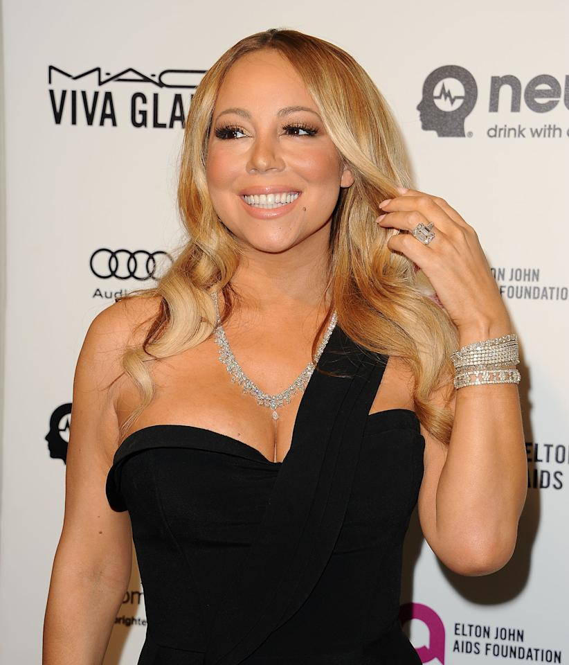 <p>Being queen of all things extra, we weren't exactly surprised to find out Mariah Carey takes the cake for the most expensive rock. James Packer popped the question in 2016 with a 35-carat diamond and platinum ring crafted by jewellery designer Wilfredo Rosado. The grand total? A whopping <strong>$10 million (£7.7 million)</strong>. Unfortunately, the couple never made it down the aisle-but it's rumoured that Carey held on to the ring.   <span></span></p>