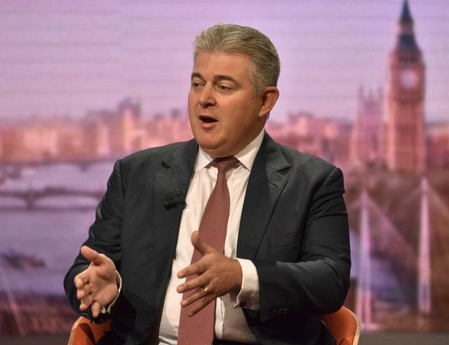 Security minister Brandon Lewis on The Andrew Marr Show