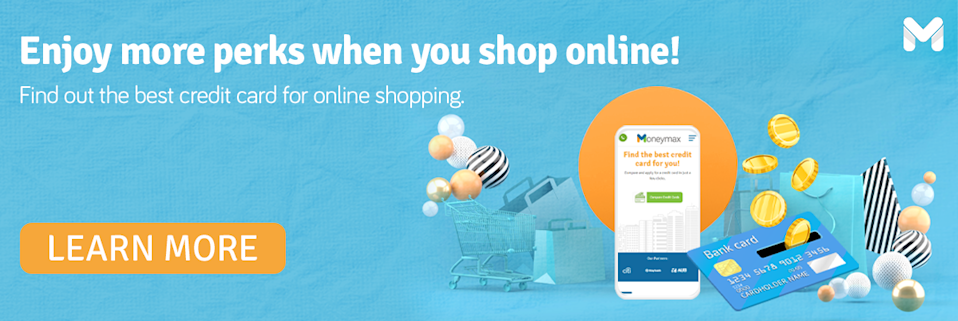 Get the best credit card for online shopping!