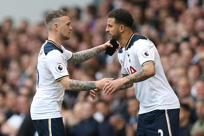 Substitute | Kieran Trippier started recent games against Chelsea and Arsenal: Tottenham Hotspur FC via Getty Images