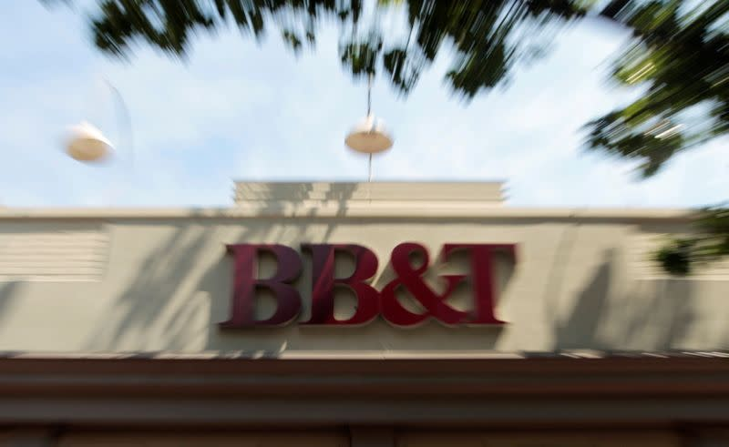 FILE PHOTO: A BB&T bank is pictured in Alexandria, Virginia