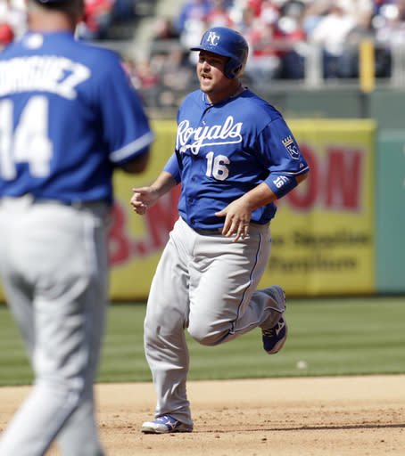 Butler hits grand slam, drives in 7 for KC in win