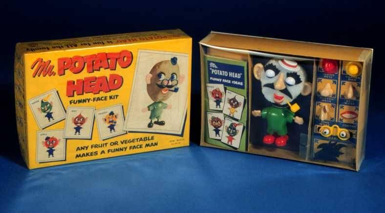 """<p>In 1952, a small, family-run business called Hasbro put out what is, objectively, a pretty weird toy: a set of tiny face and body parts designed to be stuck into a potato. The idea went viral — decades before """"viral"""" became a thing — thanks to the world's first TV commercial aimed directly at kids. Mr. Potato Head sold millions and is generally recognized as the first Christmas toy craze. </p>"""