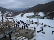 "<p><strong><a href=""https://www.yelp.com/biz/hawksnest-snow-tubing-and-zip-line-seven-devils"" rel=""nofollow noopener"" target=""_blank"" data-ylk=""slk:Hawksnest Snow Tubing and Zip Line"" class=""link rapid-noclick-resp"">Hawksnest Snow Tubing and Zip Line</a> in Seven Devils</strong></p><p>""My husband and I recently went with our two kids (7 and 8) zip lining here. We had a blast. Everyone was very professional and they have taken COVID-19 health and safety seriously. Our guides, Amanda and Hampton, were wonderful. They were both very good with children. We were very impressed with their professionalism."" - Yelp user <a href=""https://www.yelp.com/user_details?userid=7lyt4q5Ih-53Nwx1rWJ2Sw"" rel=""nofollow noopener"" target=""_blank"" data-ylk=""slk:Kimberly M."" class=""link rapid-noclick-resp"">Kimberly M.</a></p><p>Photo: Yelp/<a href=""https://www.yelp.com/user_details?userid=I1gLhkEZ5SWdGfoRhWTjoA"" rel=""nofollow noopener"" target=""_blank"" data-ylk=""slk:Scott S."" class=""link rapid-noclick-resp"">Scott S.</a></p>"