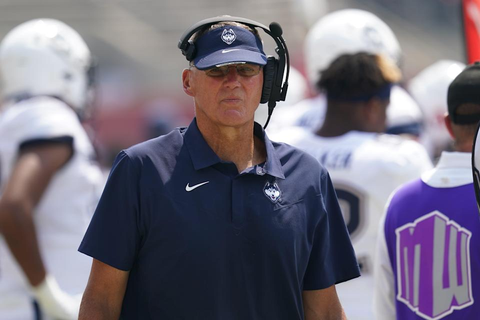 Randy Edsall has spent a total of 17 seasons over two stints as the UConn Huskies head coach.