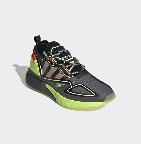 """<p><strong>Adidas </strong></p><p>adidas.com</p><p><strong>$150.00</strong></p><p><a href=""""https://go.redirectingat.com?id=74968X1596630&url=https%3A%2F%2Fwww.adidas.com%2Fus%2Fmarvel-shoes&sref=https%3A%2F%2Fwww.esquire.com%2Flifestyle%2Fg23497791%2Fbest-marvel-gifts-ideas%2F"""" rel=""""nofollow noopener"""" target=""""_blank"""" data-ylk=""""slk:Buy"""" class=""""link rapid-noclick-resp"""">Buy</a></p><p>Canvass the streets for crime—or dominate the treadmill, crush it on the court, or upgrade your street style—with Adidas's collection of Marvel-themed athletic shoes.</p>"""