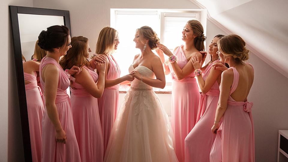 A bride has divided opinion after taking to Reddit to see if she was in the wrong for not inviting her sister to her wedding. Photo: Getty