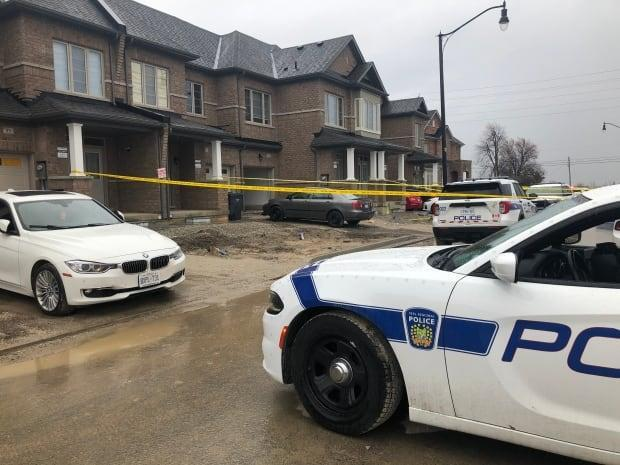 Peel police say they were called to a home on Adventura Road, near Mayfield Road and Mississauga Road, just before 3 a.m. for reports of a disturbance.