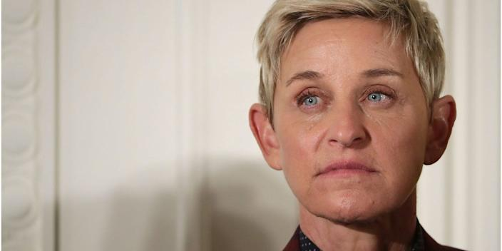 DeGeneres has increased her weekly output of shows from four to five while recording remotely, but only four of her core 30 crew members are working on the home-recorded shows.