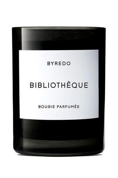 """<p><strong>BYREDO</strong></p><p>nordstrom.com</p><p><strong>$85.00</strong></p><p><a href=""""https://go.redirectingat.com?id=74968X1596630&url=https%3A%2F%2Fwww.nordstrom.com%2Fs%2Fbyredo-bibliotheque-candle%2F4772001&sref=https%3A%2F%2Fwww.elle.com%2Fbeauty%2Fg34975490%2Fbest-candle-brands%2F"""" rel=""""nofollow noopener"""" target=""""_blank"""" data-ylk=""""slk:Shop Now"""" class=""""link rapid-noclick-resp"""">Shop Now</a></p><p>""""I love Byredo's """"Bibliothèque"""" and """"Bois."""" Both of them are a blend all of my favorite warm notes: sandalwood, leather, and cedarwood.""""—<em>Nina Garcia, editor-in-chief</em></p>"""