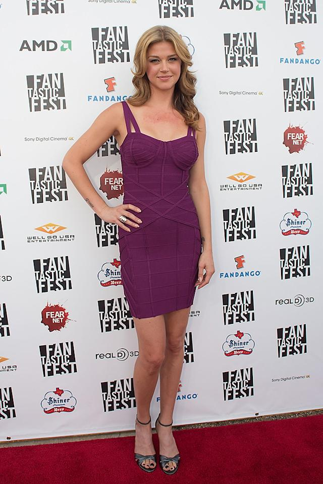 """Adrianne Palicki at the Fantastic Fest premiere of """"Red Dawn"""" on Septemeber 27, 2012."""