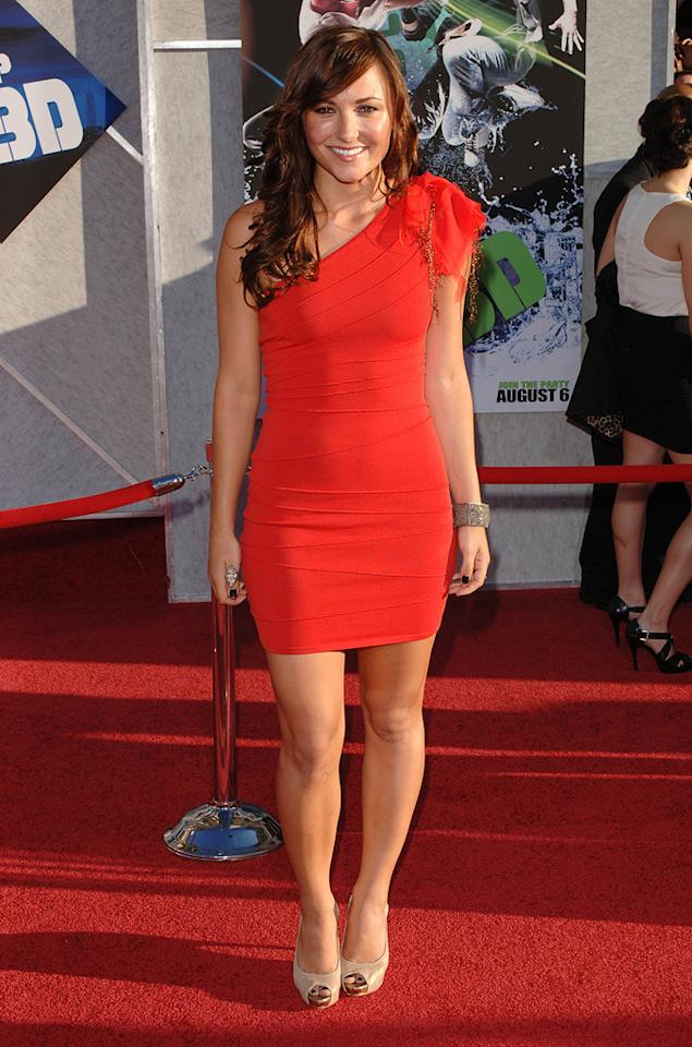 """<a href=""""http://movies.yahoo.com/movie/contributor/1800270917"""">Briana Evigan</a> at the Los Angeles premiere of <a href=""""http://movies.yahoo.com/movie/1810088499/info"""">Step Up 3-D</a> - 08/02/2010"""