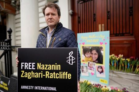 UK extremely concerned about jailed British-Iranian aid worker