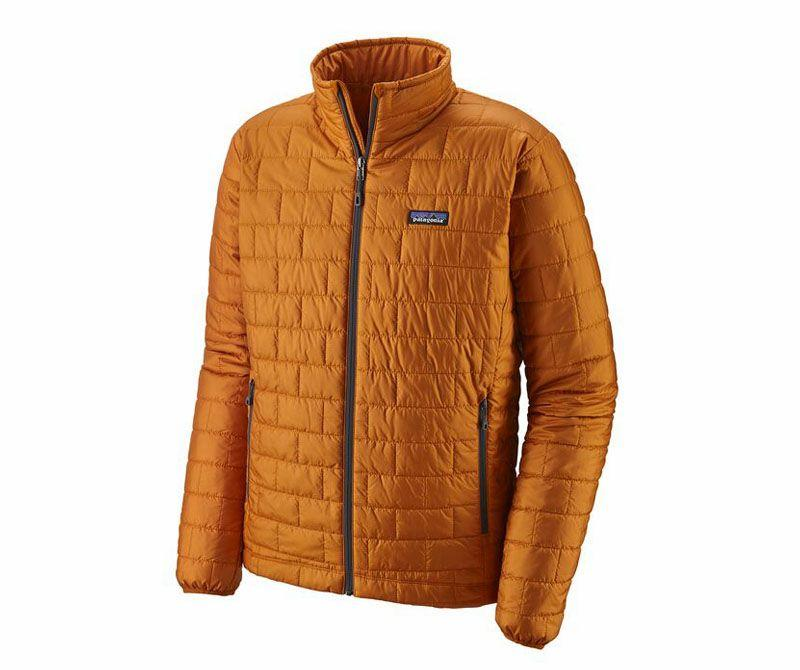 """<p><strong>Patagonia</strong></p><p>rei.com</p><p><strong>$199.00</strong></p><p><a href=""""https://go.redirectingat.com?id=74968X1596630&url=https%3A%2F%2Fwww.rei.com%2Fproduct%2F102404&sref=http%3A%2F%2Fwww.popularmechanics.com%2Fadventure%2Foutdoor-gear%2Fg29801041%2Frei-gear-up-get-out-sale%2F"""" target=""""_blank"""">Buy Now</a></p><p>Tipping the scales at less than 12 ounces, the Nano Puff features 60-gram PrimaLoft synthetic insulation to keep you warm without weighing you down. This mid-layer stuffs down small. Plus, the shell, lining, and most of the insulation are made from recycled materials. </p><p><a class=""""body-btn-link"""" href=""""https://go.redirectingat.com?id=74968X1596630&url=https%3A%2F%2Fwww.rei.com%2Fproduct%2F102404%2Fpatagonia-nano-puff-jacket-mens&sref=http%3A%2F%2Fwww.popularmechanics.com%2Fadventure%2Foutdoor-gear%2Fg29801041%2Frei-gear-up-get-out-sale%2F"""" target=""""_blank"""">Shop Men's</a> 