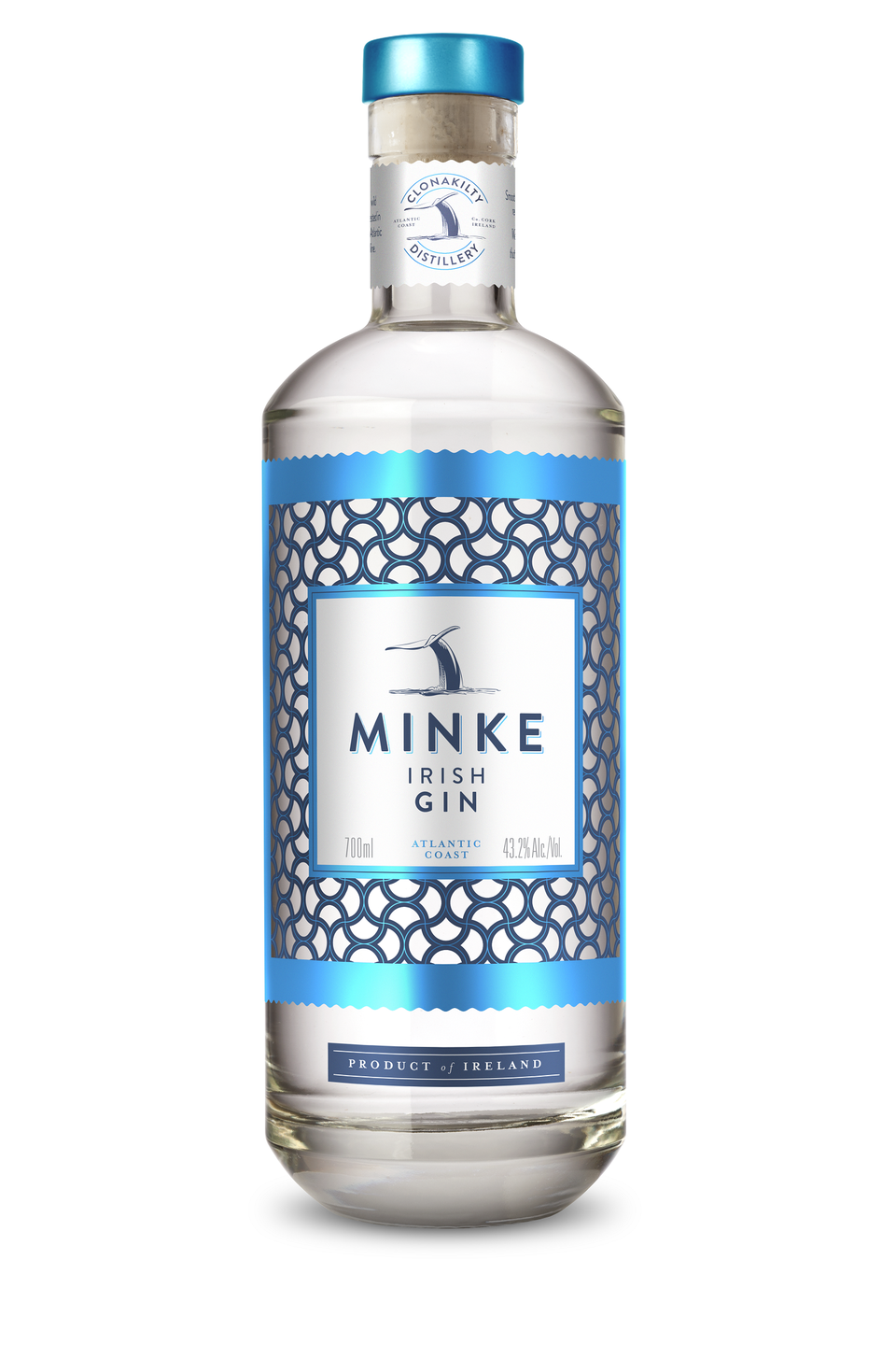 """<p>From the award-winning family-run Irish Distillers Clonakilty, <a href=""""https://clonakiltydistillery.ie/"""" rel=""""nofollow noopener"""" target=""""_blank"""" data-ylk=""""slk:Minke"""" class=""""link rapid-noclick-resp"""">Minke</a> is inspired by the Minke Whale, which swim off the Atlantic coastline. On the sea cliffs, the distillers sustainably harvest rock samphire, the unique botanical that gives Minke gin its distinctive flavour. The base spirit is derived from whey, produced from the family's 9th generation farm near Galley Head Lighthouse. </p><p>Pair it with a light <a href=""""https://fever-tree.com/en_GB/products/refreshingly-light-indian-tonic-water"""" rel=""""nofollow noopener"""" target=""""_blank"""" data-ylk=""""slk:Fever-Tree tonic"""" class=""""link rapid-noclick-resp"""">Fever-Tree tonic</a> for a classic G&T. The Fever-Tree Light is a traditional tonic that works perfectly with the strong taste of the Minke Gin. Together they work in harmony and create the perfect balance.</p>"""