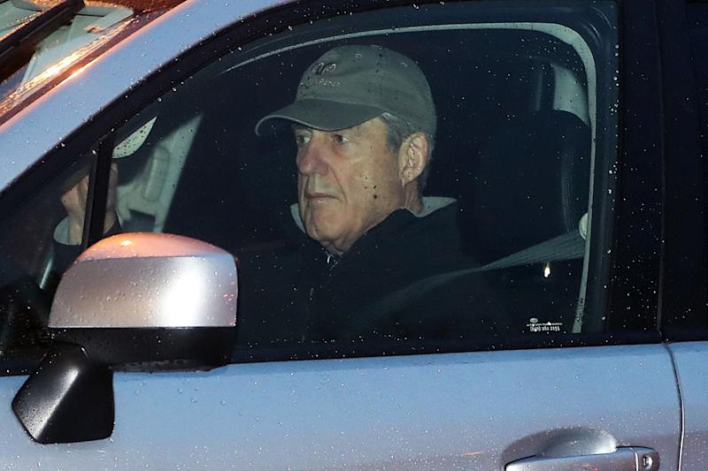 Special CounselRobert Mueller arrives at his office on March 21, 2019 in Washington DC. It is expected that Muellerwill soon complete his investigation into Russian interference in the 2016 presidential election and release his report.