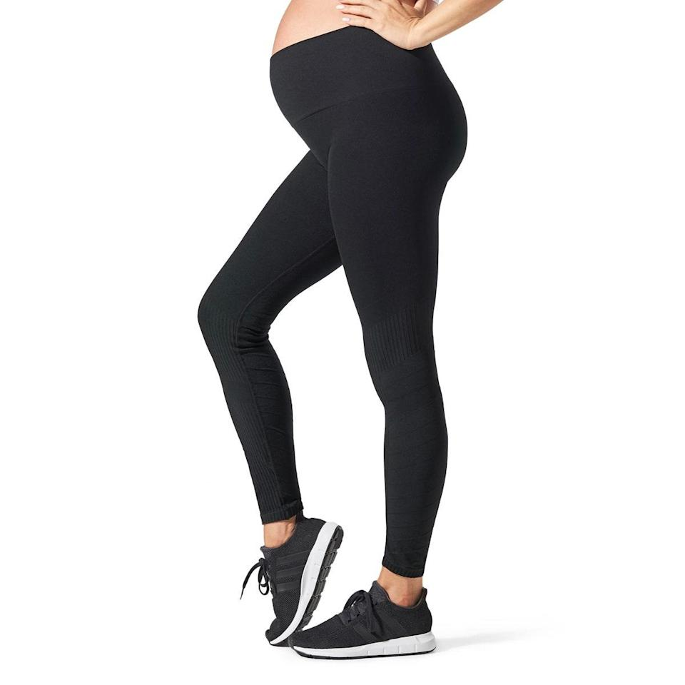 """$64, Nordstrom. <a href=""""https://www.nordstrom.com/s/blanqi-sportsupport-hipster-cuff-contour-support-maternity-postpartum-leggings/4986011?"""" rel=""""nofollow noopener"""" target=""""_blank"""" data-ylk=""""slk:Get it now!"""" class=""""link rapid-noclick-resp"""">Get it now!</a>"""