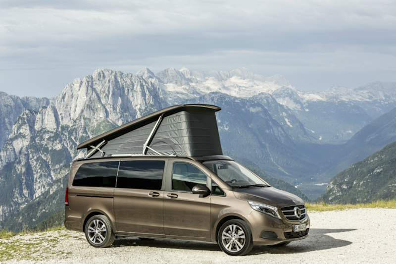 Mercedes-Benz V-Class Marco Polo Luxury Camper to Debut at 2020 Auto Expo