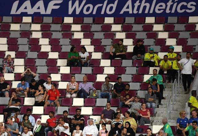 Former IOC marketing guru Michael Payne believes Doha is a blip and the 2023 World Championships in Eugene, Oregon will restore its image (AFP Photo/Kirill KUDRYAVTSEV)