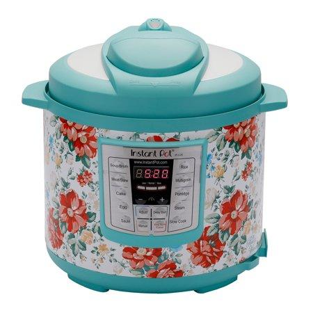 The Pioneer Woman Instant Pot LUX60 6 Qt Vintage Floral 6-in-1 Multi-Use Programmable Pressure Cooker, Slow Cooker, Rice Cooker, Saut?, Steamer, and Warmer (Walmart / Walmart)