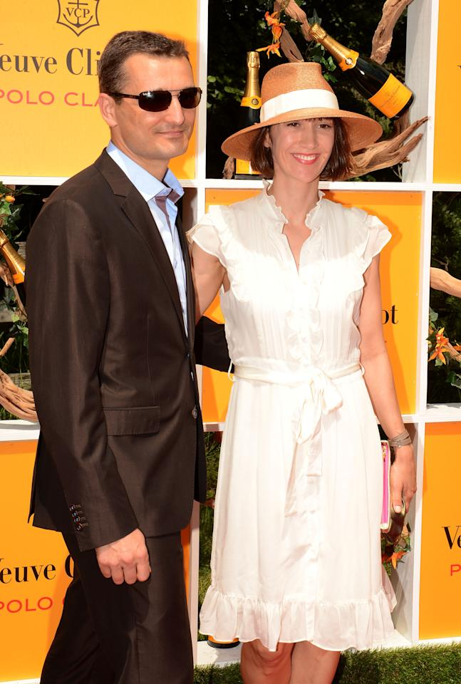 JERSEY CITY, NJ - JUNE 02:  Adam Lipson and Alexis Parrin attends the fifth annual Veuve Clicquot Polo Classic on June 2, 2012 in Jersey City.  (Photo by Andrew H. Walker/Getty Images for Veuve Clicquot Polo Classic)