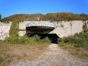 "<p>When it was established in 1917, this fort in Queens pointed its cannons toward the sea to protect New York. During World War II, Fort Tilden beefed up security ""and concrete"" in case of an attack. But the Fort wasn't needed during the war, was decommissioned in 1974, and has since become part of the National Park Service and the site of urban exploration.<br></p>"