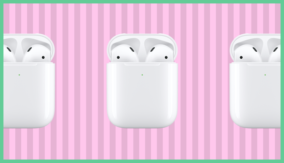 Apple AirPods with wireless case. (Photo: Apple)