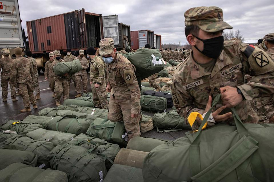 A flashback of the US's first step on the Afghan soil