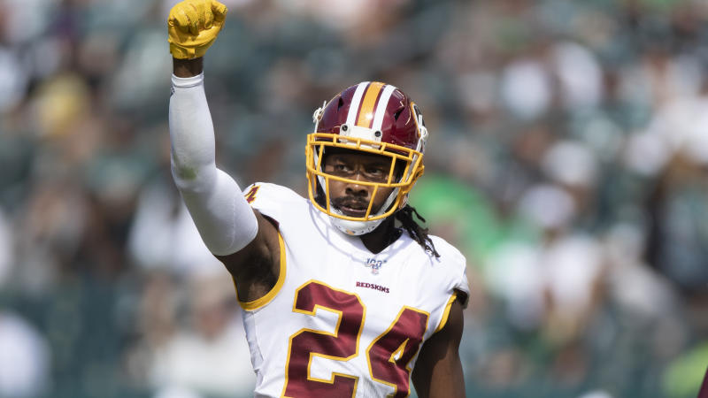 Former Washington Redskins cornerback Josh Norman agreed to a deal with the Bills. (AP Photo/Jason E. Miczek)
