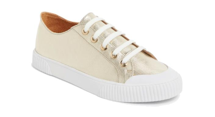 AND/OR Erika Canvas Flatform Trainers