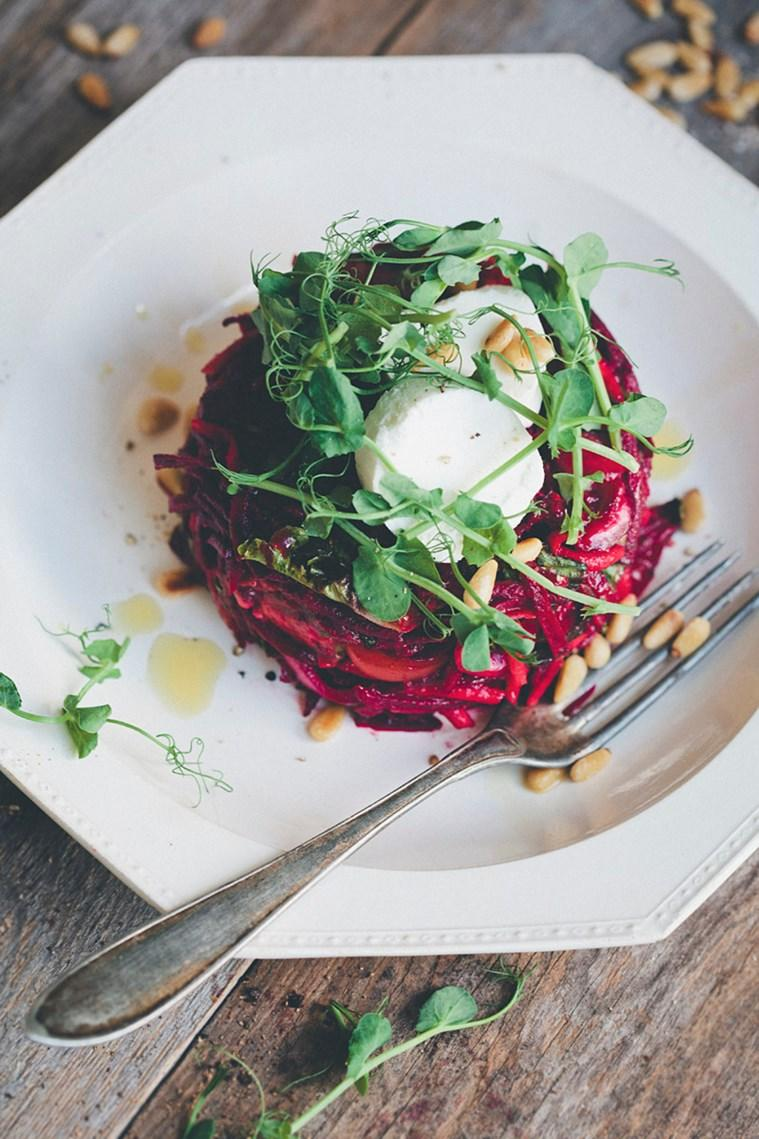 winter salad recipes, how to make salads, new salad recipes, winter salads, salad, healthy eating recipes, indianexpress.com, indianexpress, Beetroot Tartare Salad recipe, Grilled Chicken Poke' Sriracha Aioli recipe, Warm Sprouts Salad recipe, healthy eating, salad recipes,
