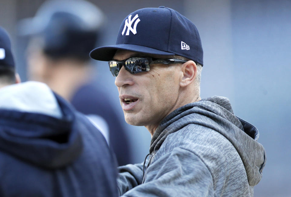 The Phillies have reportedly chosen former Yankees manager Joe Girardi to be the team's manager. (Photo by Paul Bereswill/Getty Images)