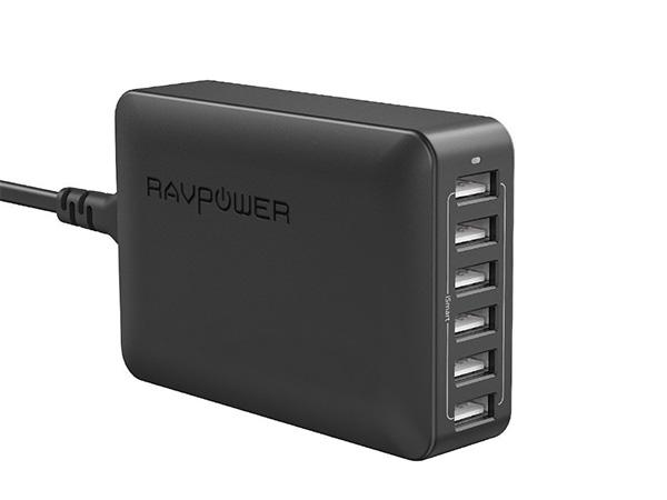 RAVPower 60W USB Charger