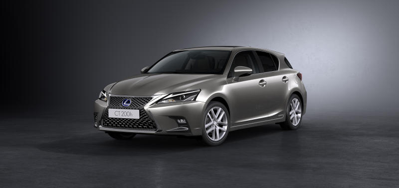 The Lexus CT200h gets sportier for 2018