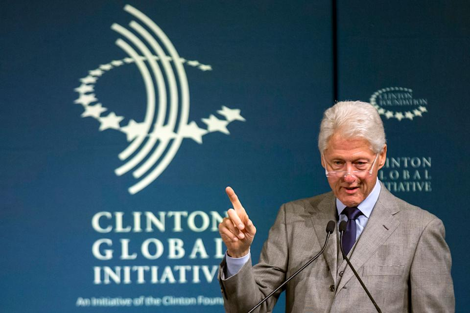 """Clinton advocated for better mental health policies when he was president, slammingthe<a href=""""http://www.presidency.ucsb.edu/ws/?pid=57689"""" target=""""_blank"""">negative stereotypes surrounding the conditions</a>during aradio address in 1999.<br /><br />""""Mental illness is nothing to be ashamed of, but stigma and bias shame us all,"""" he stated."""