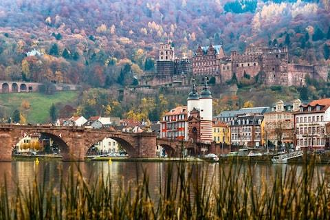 Heidelberg is just 11 minutes away by train - Credit: GETTY
