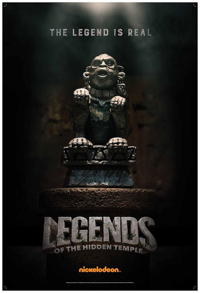 LEGENDS OF THE HIDDEN TEMPLE: THE MOVIE, US poster, 2016. Nickelodeon/courtesy Everett Collection