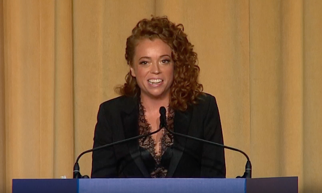 Comedian Michelle Wolf at the White House Correspondents Dinner