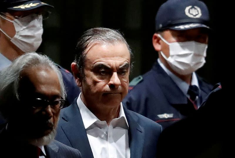 Surveillance in a leafy enclave, Ghosn's Tokyo life was under strict monitoring