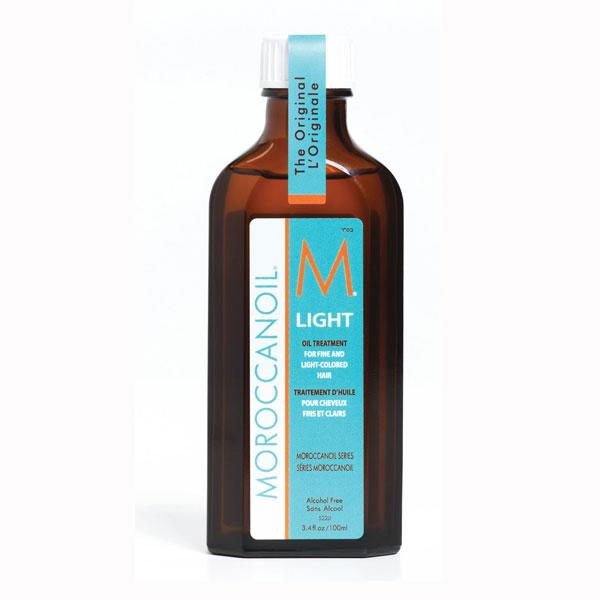"<b><a target=""_blank"" href=""http://www.feelunique.com/p/Moroccanoil-Light-Oil-Treatment-for-Fine-and-Light-Coloured-Hair-100ml?utm_source=GoogleBaseUK&utm_medium=gen"">Moroccanoil Light Oil Treatment for Fine and Light-Coloured Hair - £30.45 – Feelunique.com</a></b><b><br><br>The verdict:</b><br><br><em>""This gave my hair a nice texture and made it look glossy once I dried it. Don't apply too much though as it can make your hair look greasy.""</em>"