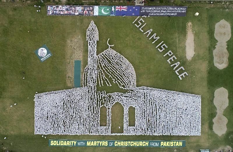 The tribute was organised by the Muslim Institute, a non-government organisation aimed at promoting peace and stability in the Muslim world (AFP Photo/HANDOUT)