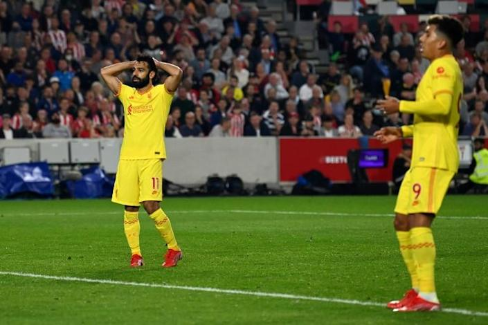 Liverpool missed the chance to open up a three-point lead at the top of the Premier League (AFP/Glyn KIRK)