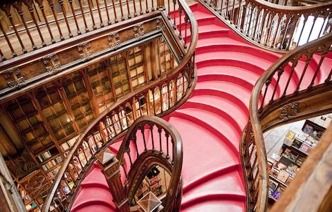 The Lello bookstore - Credit: Getty