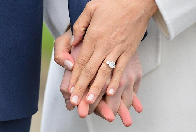 The pair were engaged in November 2017. (Photo: PA)