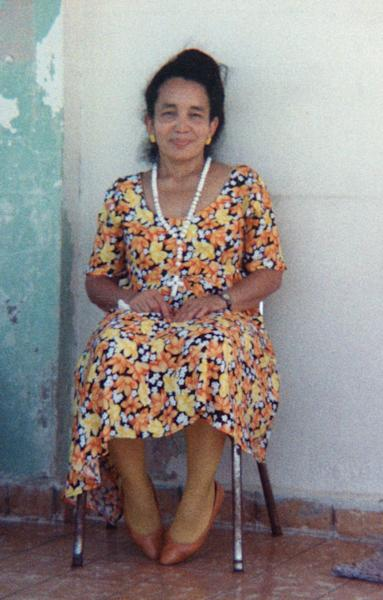 This undated family photo shows Carmen Tanco during a visit to Puerto Rico. Tanco, 67, a dental hygienist, was killed Wednesday, March 12, 2014 in gas leak-triggered explosion that reduced two buildings in the East Harlem neighborhood of New York to a pile of smashed bricks, splinters and mangled metal. Rescuers pulled four additional bodies from the rubble Thursday, raising the death toll to at least seven. (AP Photo/Photo provided by family of Carmen Tanco)