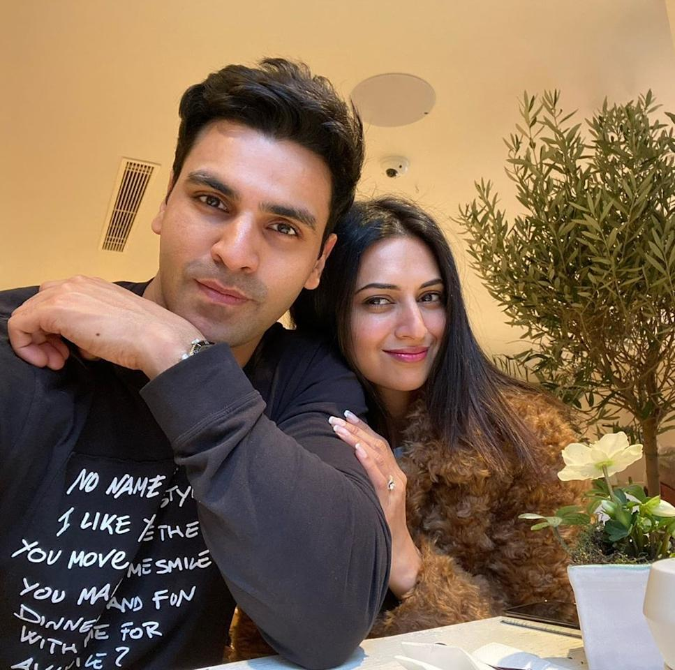 They were together in <em>Yeh Hain Mohabbatein</em>, but not romancing each other. However, what couldn't happen in reel life, happened in real life and the two, coaxed by their fans, started seeing each other. Their love grew organically and they ended up exchanging vows in July 2016.