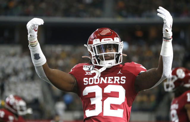 Oklahoma has won five-straight Big 12 titles. (Photo by Ron Jenkins/Getty Images)