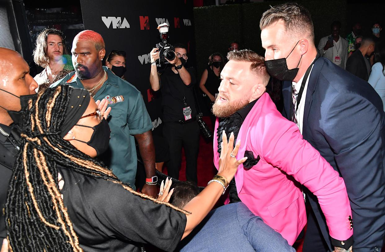 Conor McGregor attends the 2021 MTV Video Music Awards at Barclays Center on September 12, 2021 in the Brooklyn borough of New York City. (Photo: Jeff Kravitz/MTV VMAs 2021/Getty Images for MTV/ViacomCBS)
